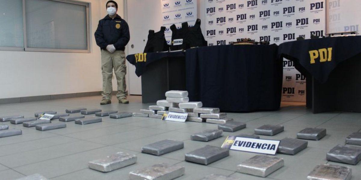 Operativo PDI en Arica puso tras las rejas al