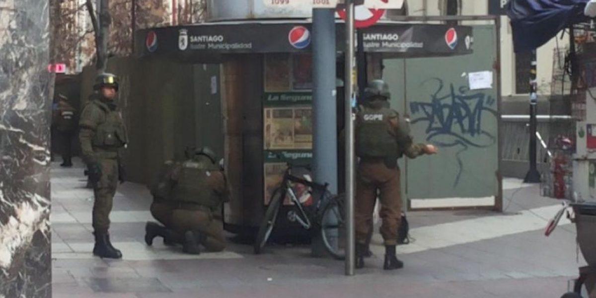 Cierran acceso a estación Plaza de Armas por objeto sospechoso