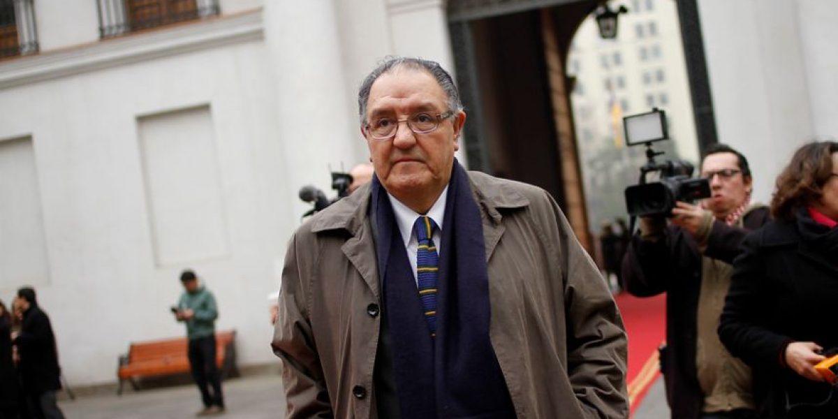 Gobierno pide la renuncia a intendente Francisco Huenchumilla