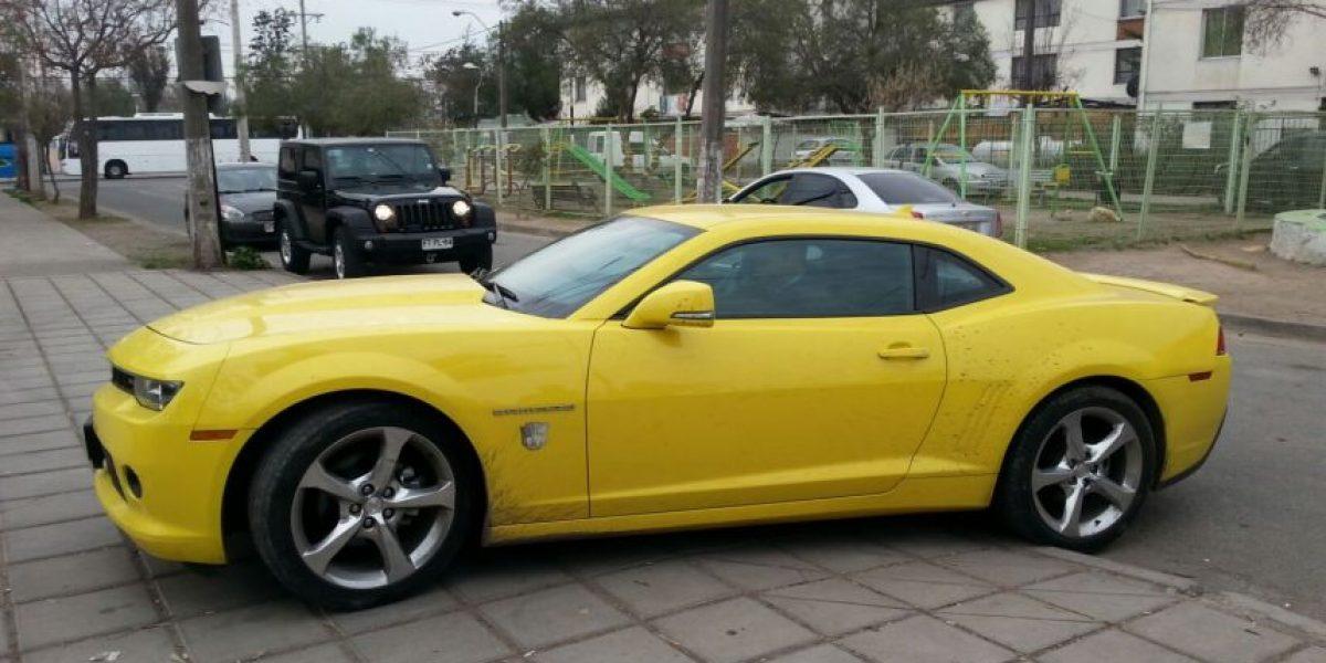 Recuperan automóvil de lujo tras violento robo en Santiago
