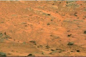 Fotografía original de la NASA, tomada por el explorador Spirit Foto:Foto original http://photojournal.jpl.nasa.gov/jpeg/PIA10214.jpg. Imagen Por: