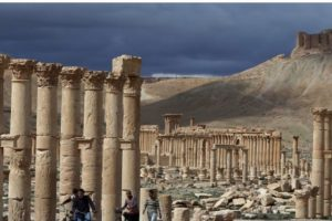 3. Palmira tiene más de dos mil años de antigüedad. Foto:AFP. Imagen Por: