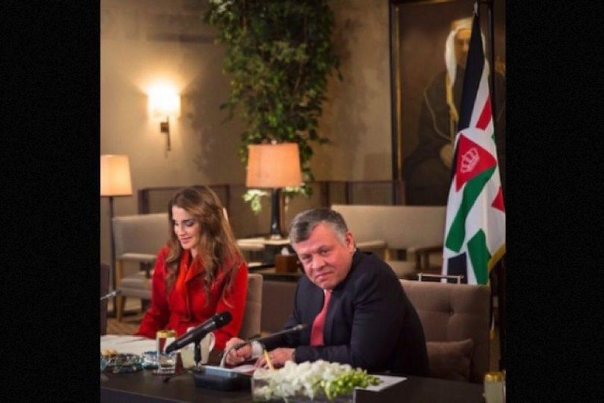 La reina de Jordania, de 44 años, ha destacado por su trabajo relacionado con la educación, la salud, el diálogo intercultural y la juventud del país. Foto:Instagram.com/queenrania. Imagen Por: