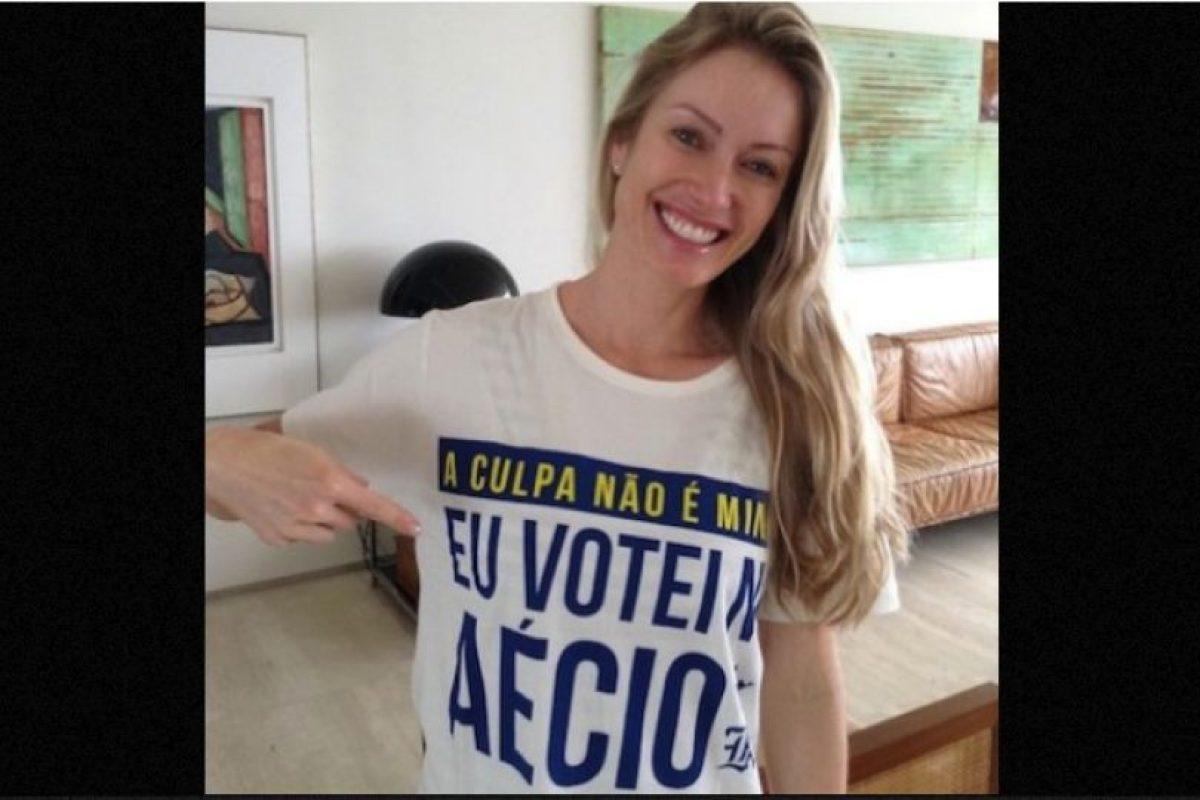 La que pudo haber sido primera dama de Brasil nació en la comunidad de Rio Grande do Sul, en donde comenzó su vida profesional como modelo para fotografías. Foto:Instagram.com/aecionevesoficial. Imagen Por: