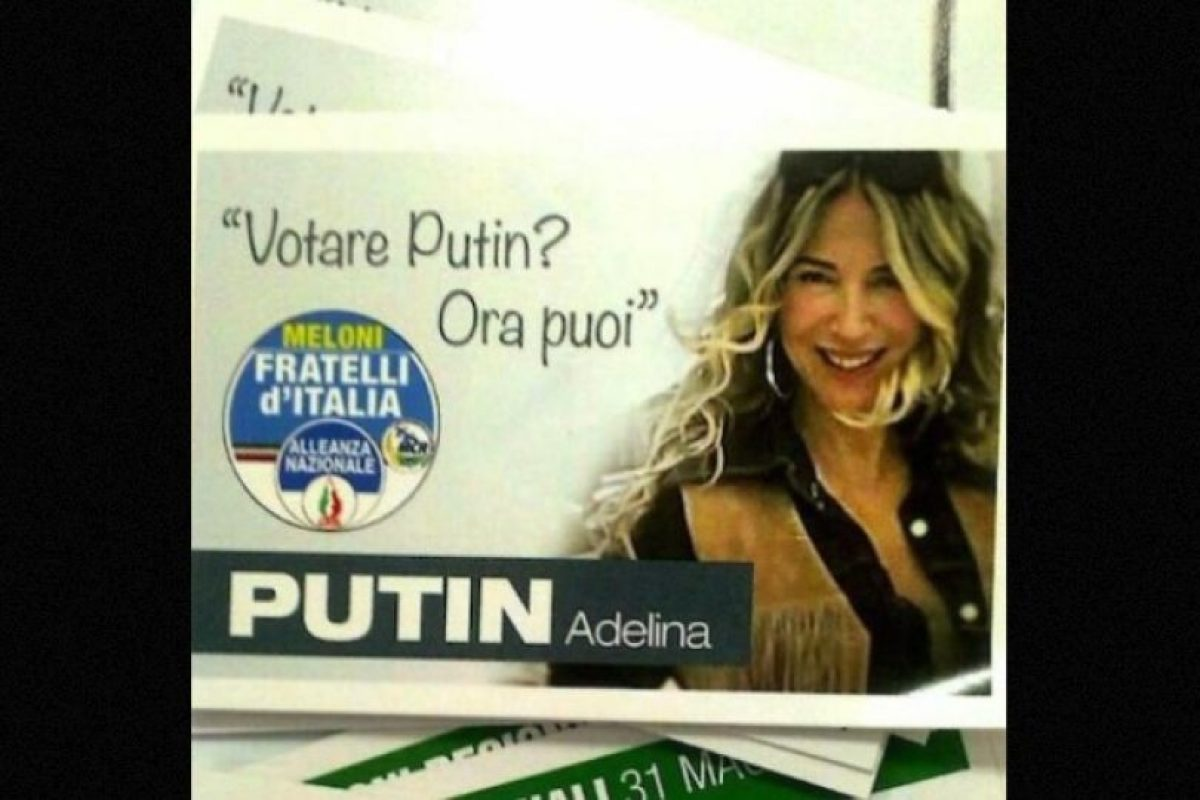 2. Adelina Putin: Italia Foto:Instagram.com/Adeputin. Imagen Por: