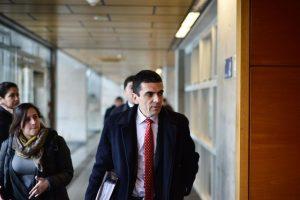 Fiscal Carlos Gajardo Foto:Agencia Uno. Imagen Por: