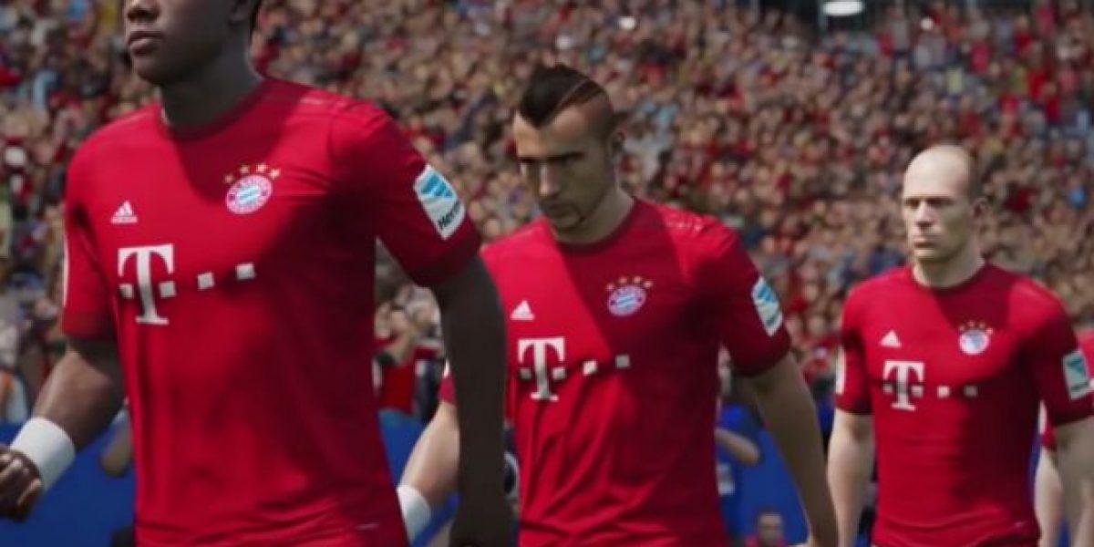 FIFA 16 presenta video centrado en los escenarios y sonidos del juego