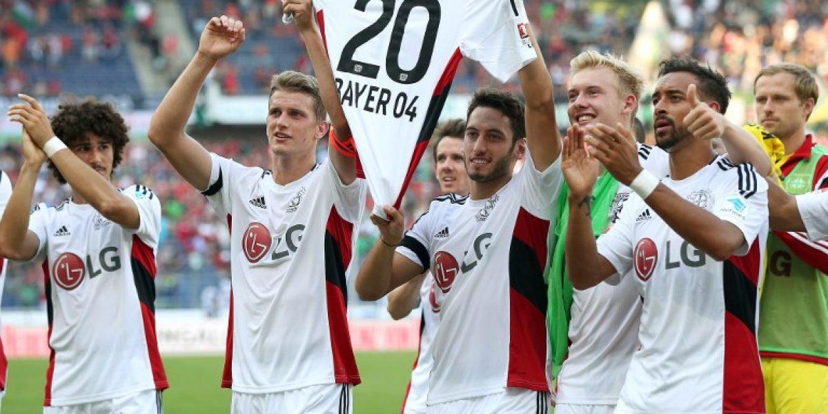 Aránguiz fue operado con éxito y Leverkusen le desea pronta recuperación