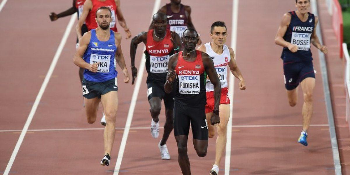 David Rudisha recupera su corona mundial en los 800 metros de Beijing
