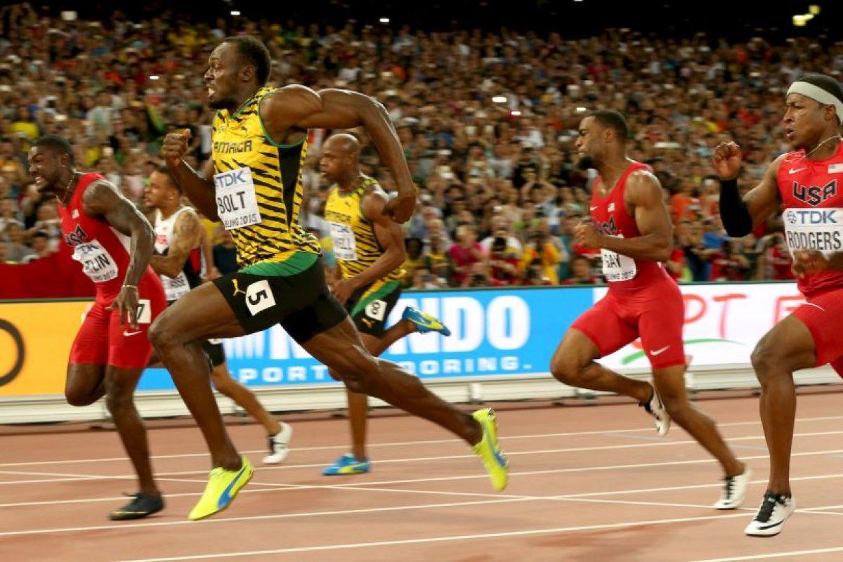 Así fue el duelo de Bolt contra Gatlin Foto:Getty Images. Imagen Por: