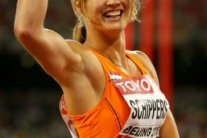 Ella corre los 100 y 200 metros y los 4X100 metros Foto:Getty Images. Imagen Por: