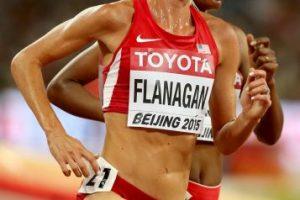 La estadounidense corre los 10 mil metros Foto:Getty Images. Imagen Por:
