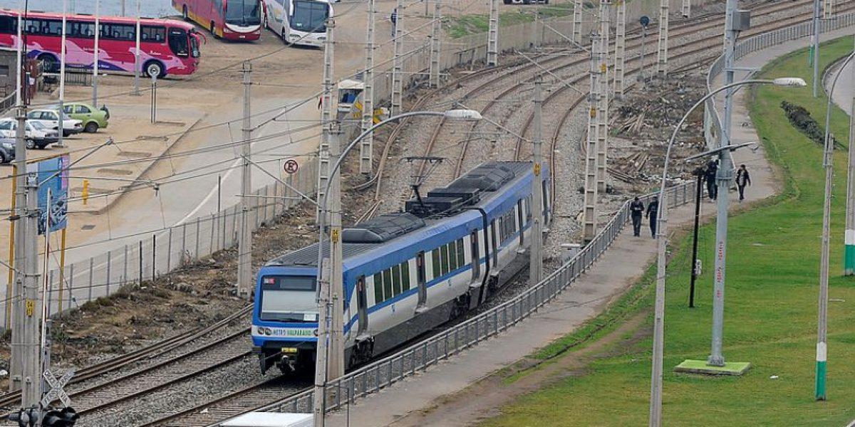 Metro de Valparaíso suspende servicio por falla en sistema interno