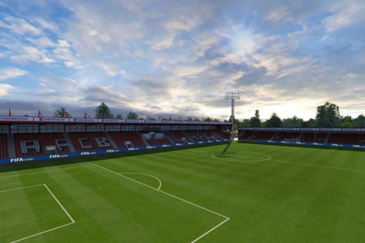 Vitality Stadium (Bournemouth, Barclays Premier League) Foto:EA Sports. Imagen Por: