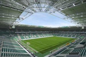 BORUSSIA-PARK (Borussia Mönchengladbach, Bundesliga) Foto:EA Sports. Imagen Por:
