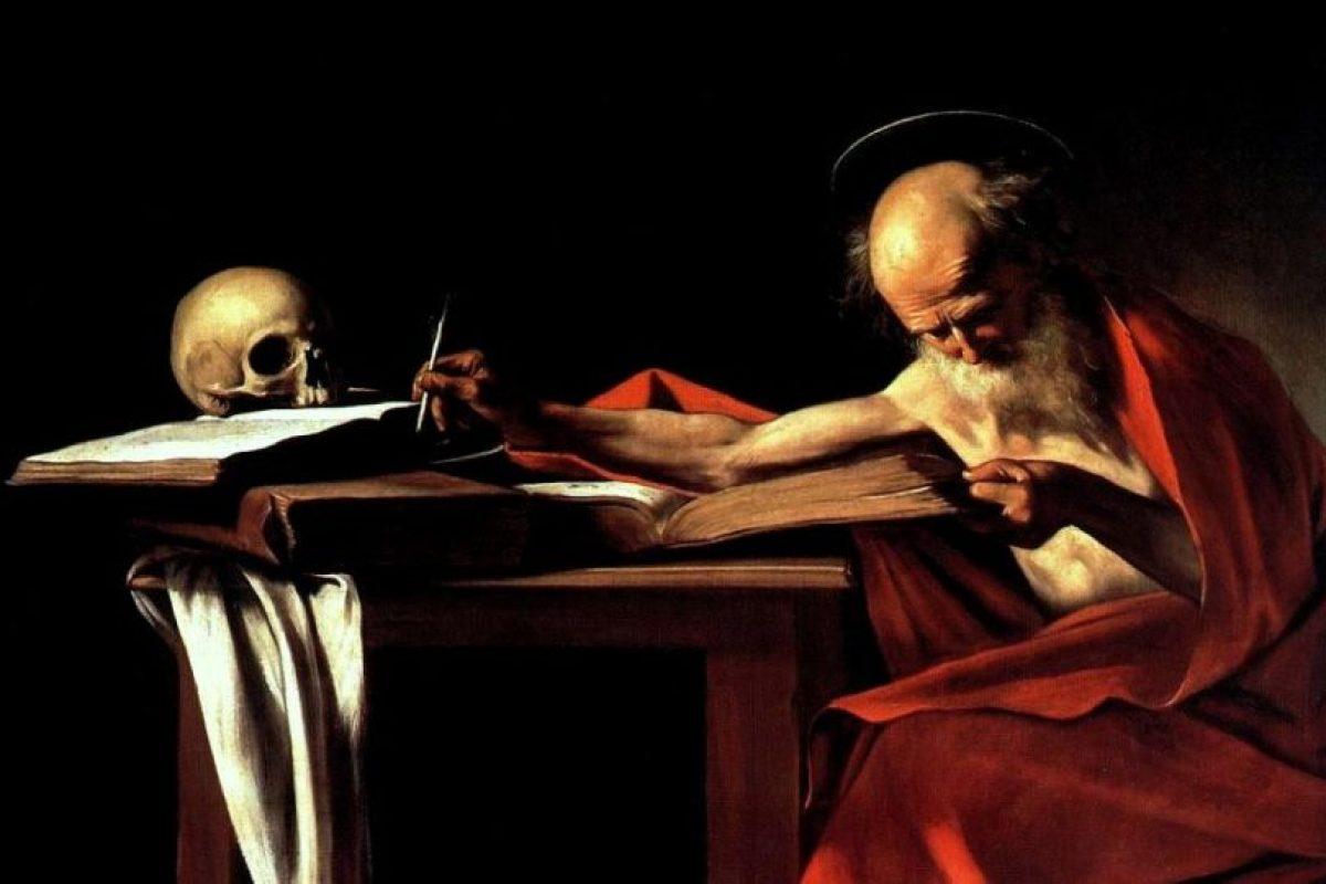 """""""St. Jerome"""" Caravaggio Foto:Wikimedia. Imagen Por:"""