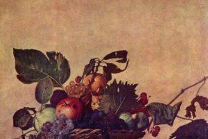 """""""Cesta de frutas"""" de Caravaggio Foto:Wikimedia. Imagen Por:"""