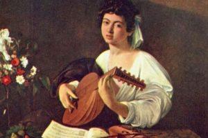 """""""Teñedor del Laúd"""" de Caravaggio Foto:Wikimedia. Imagen Por:"""