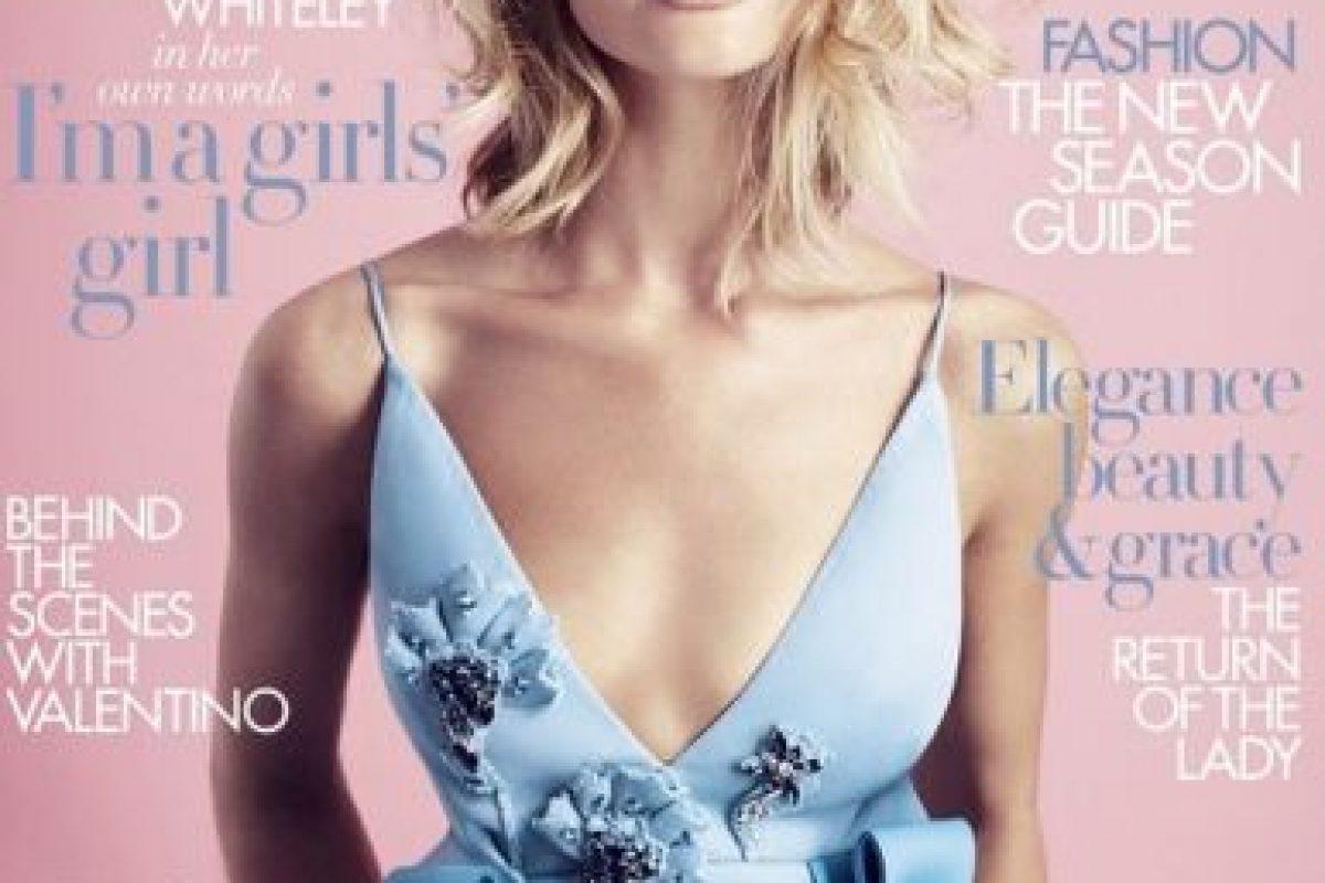 Harper's Bazaar es protagonizada por Rosie Huntington-Whiteley Foto:Harper's Bazaar. Imagen Por: