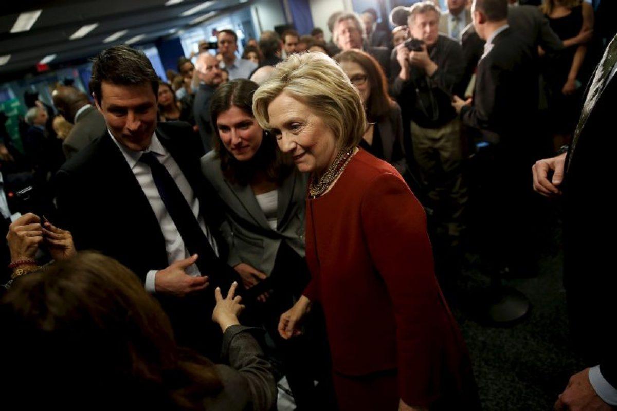 Hillary Clinton, aspirante a la presidencia por el Partido Demócrata Foto:Getty Images. Imagen Por:
