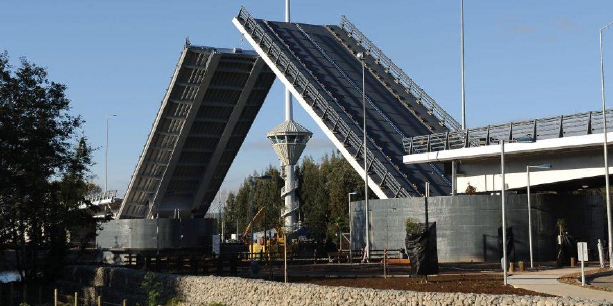 Confirman que puente Cau Cau estaría terminado en 2017