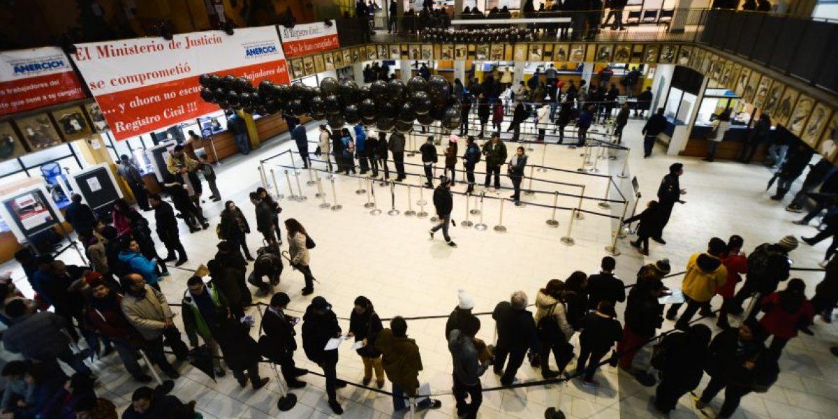 En un 40% aumentó solicitud de pasaportes tras fuerte alza para adquirir documento