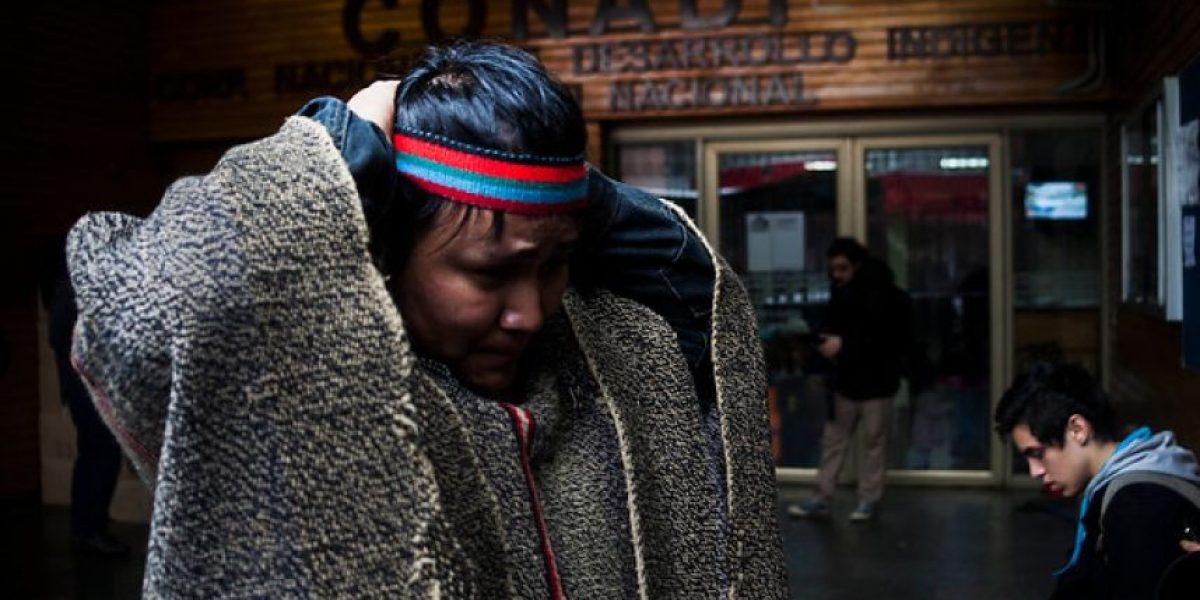 Comuneros mapuche se tomaron sede de la Conadi en Los Ríos