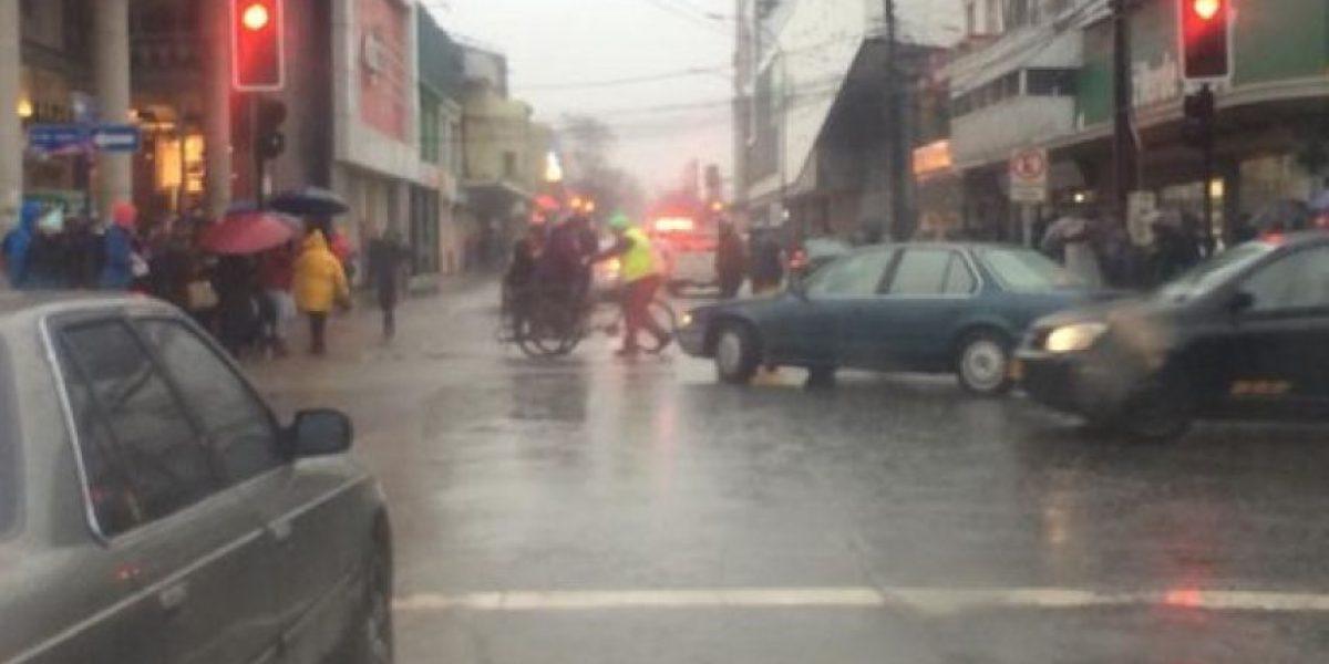 Casas y calles inundadas es el saldo que deja la lluvia en Ñuble