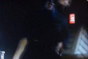 Una imagen del atacante Foto:Twitter.com. Imagen Por: