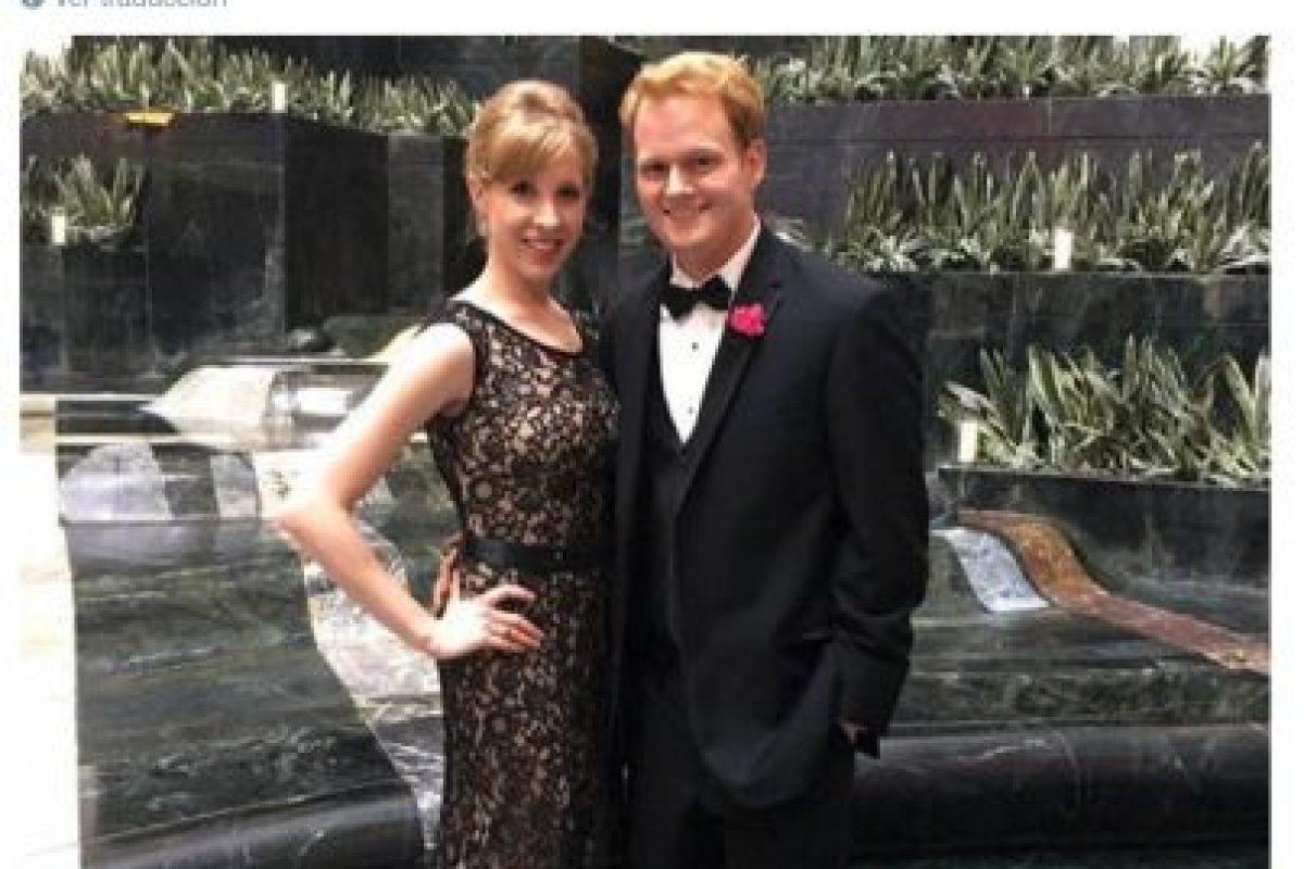 """""""No lo hicimos público, pero Parker y yo estábamos enamorados. Nos acabábamos de mudar juntos. Estoy en shock"""", explicó Chris Hurst Foto:Twitter.com. Imagen Por:"""