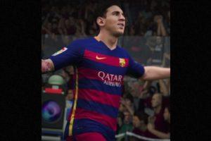 Lionel Messi. Foto:EA Sports. Imagen Por: