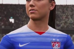 Alex Morgan. Foto:EA Sports. Imagen Por: