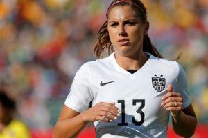 La estadounidense Alex Morgan juega en el Portland Thorns FC. Foto:Getty Images. Imagen Por: