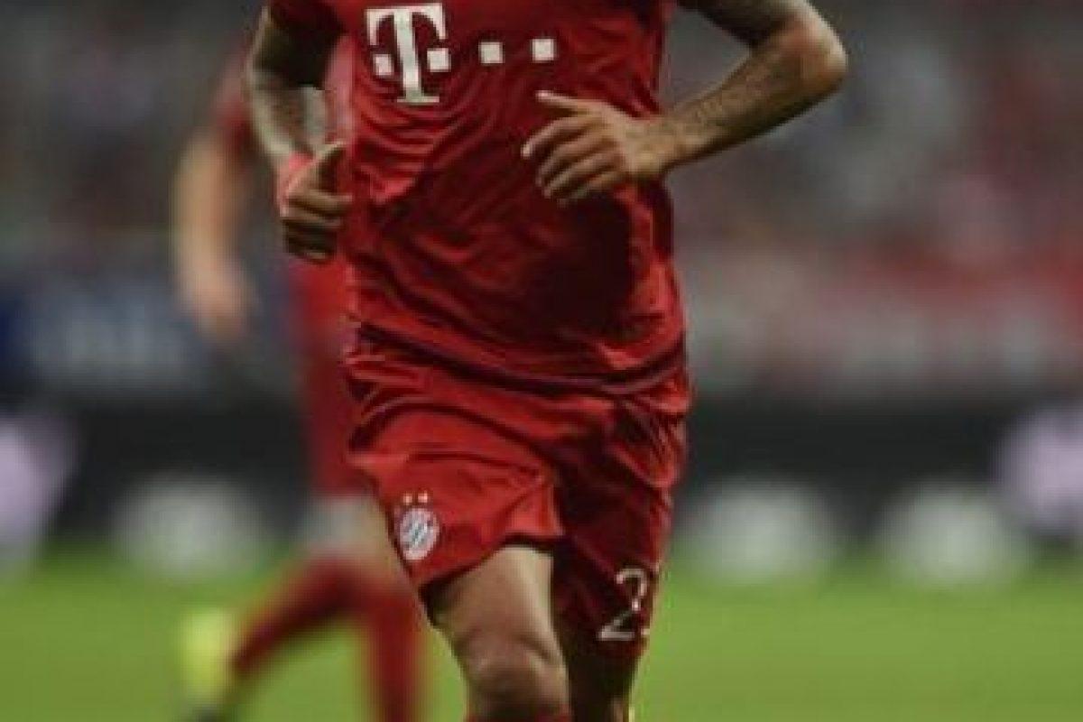 El chileno Arturo Vidal juega en el Bayern Múnich de Alemania. Foto:Getty Images. Imagen Por: