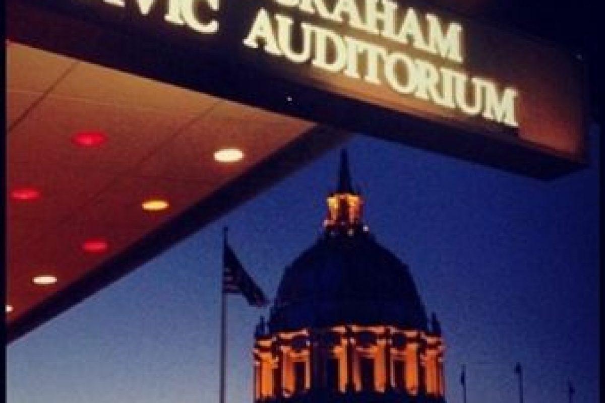 Antes de 1992 era conocido como San Francisco Civic Auditorium. Foto:instagram.com/1ucky:wr3nch. Imagen Por: