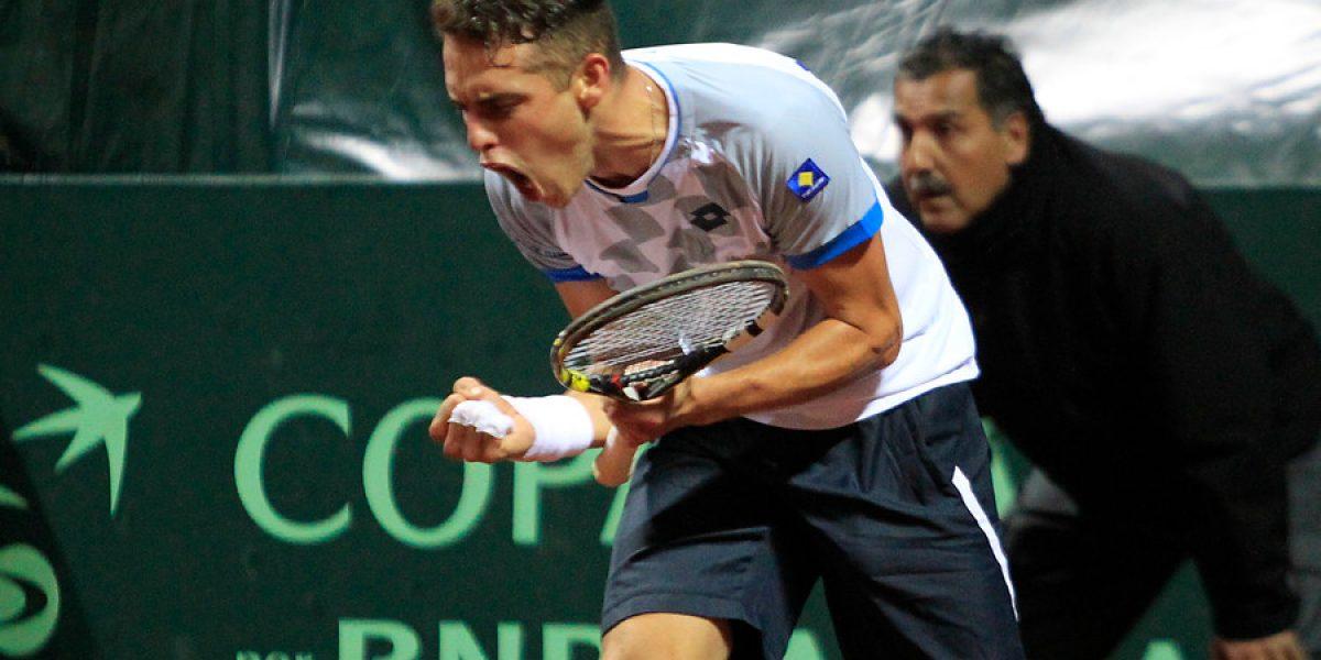 Juan Carlos Sáez accedió a los cuartos de final en challenger de Manerbio