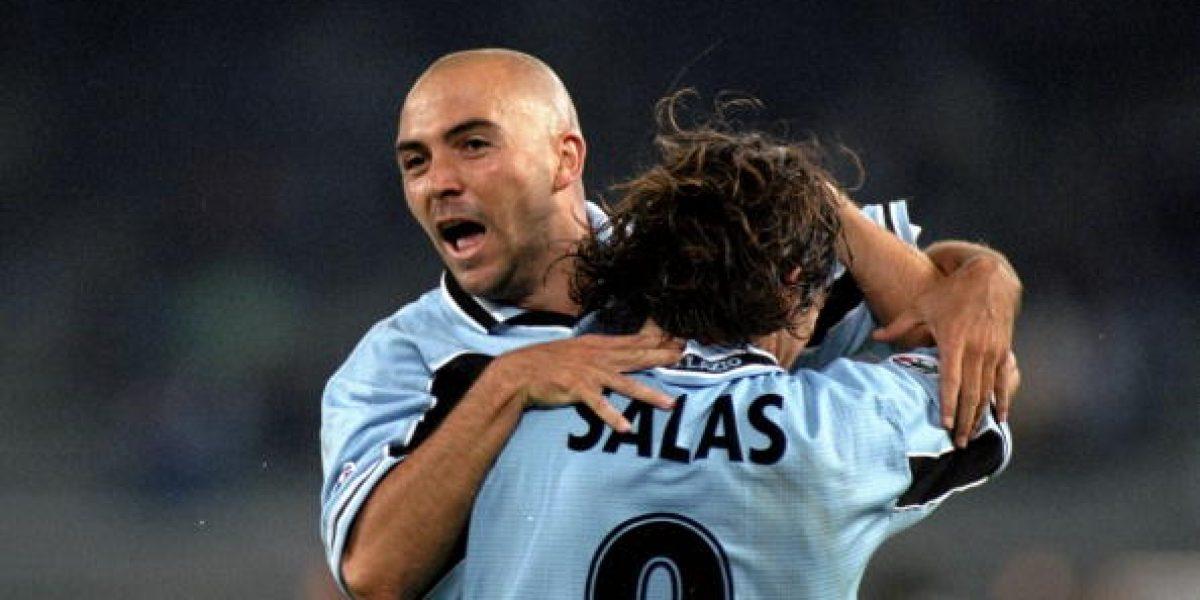 Marcelo Salas se reencontrará con Trezeguet, Nedved y Davids