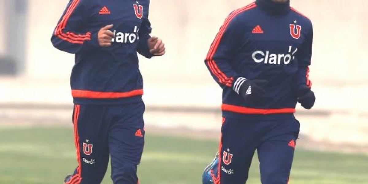Moisés Villarroel celebró su primer gol pero aún no puede debutar con la U en el Apertura