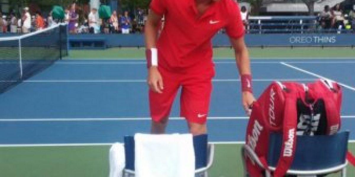 Nicolás Jarry tuvo debut y despedida en la qualy del US Open