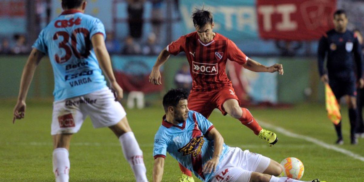 Campos tuvo gran cometido con Arsenal en empate ante Independiente por la Sudamericana