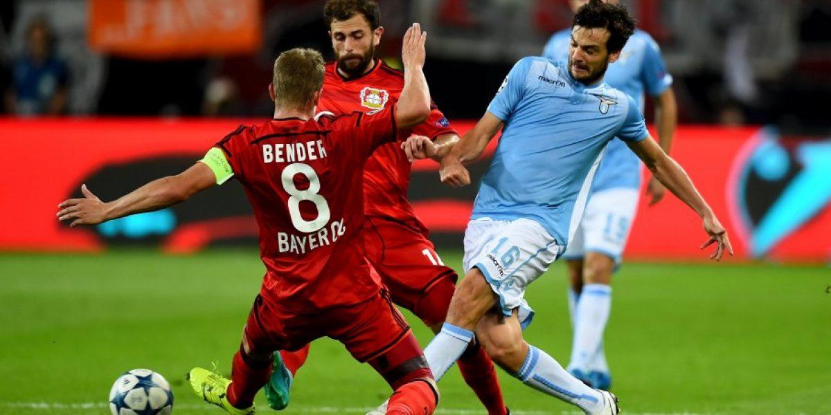 Bayer Leverkusen de Aránguiz logra clasificación a la fase grupal de la Champions