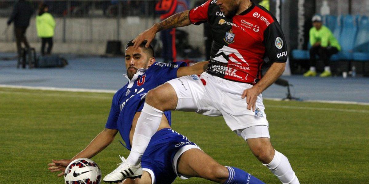 Rocky y Bulldog recuperados: Espinoza y González podrán jugar ante Palestino
