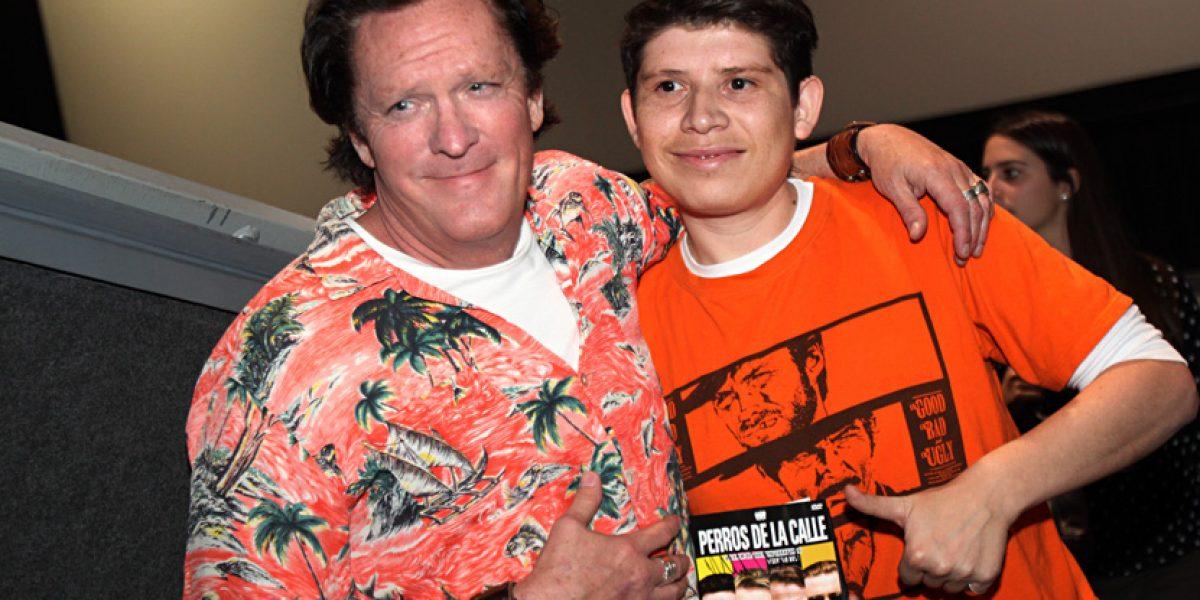 Michael Madsen se reunió con fans para ver clásico de Tarantino