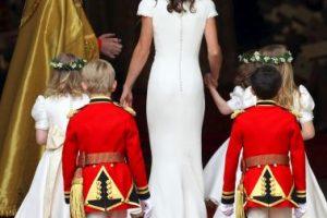Llamó fuertemente la atención en la boda real Foto:Getty Images. Imagen Por: