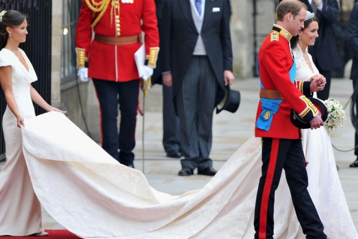 Fue la dama de honor de su hermana en la Boda Real de 29 de abril 2011, cuya celebración ayudó a organizar Foto:Getty Images. Imagen Por: