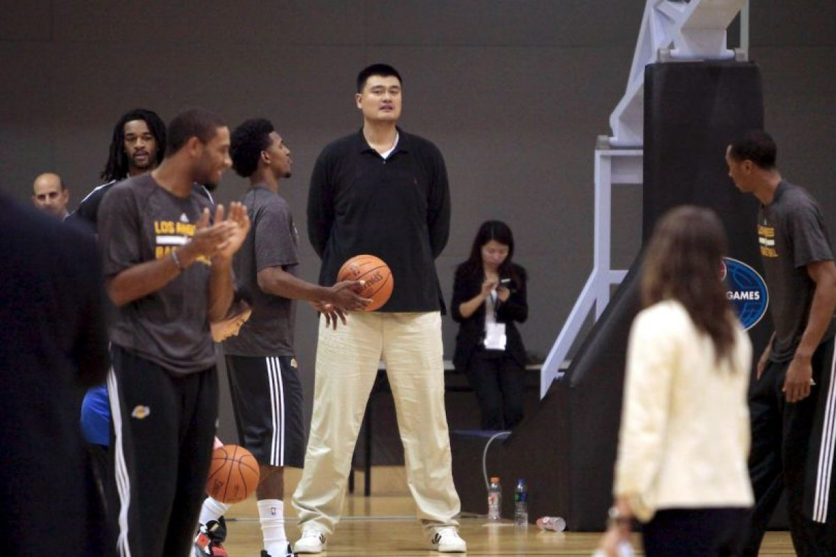 Yao Ming Foto: Getty Images. Imagen Por: