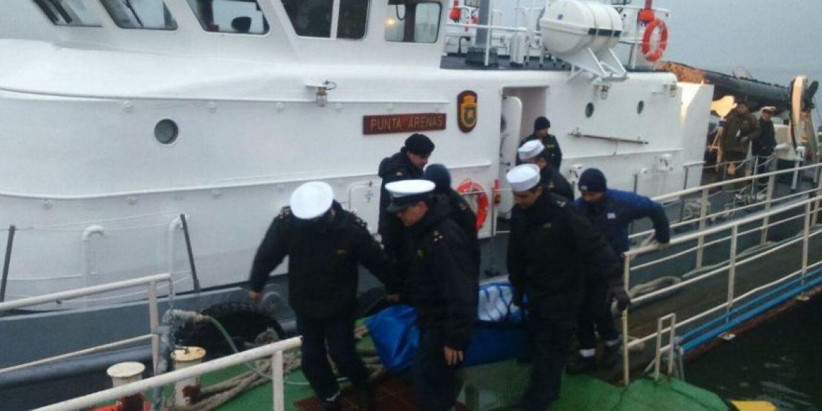Naufragio en Estrecho de Magallanes deja dos personas fallecidas