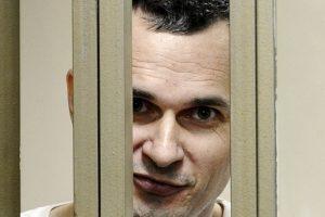 El cineasta ucraniano Oleg Sentsov, tiene 39 años. Foto:AP. Imagen Por: