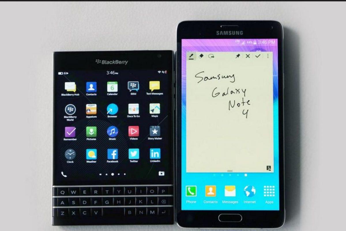 La competencia más cercana a este móvil sería el reciente Galaxy Note 5 de Samsung Foto:Vía digitaltrends.com. Imagen Por:
