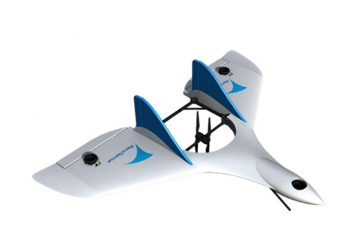 Esta basado en un modelo de la compañía Aero Sense Foto:Aereo Sense. Imagen Por: